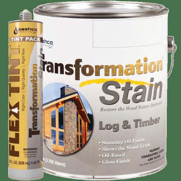 Flex Tint for Transformation Log & Timber